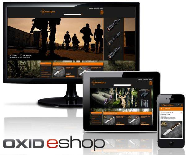 OXID Webshop GunnersGear aus Recklinghausen