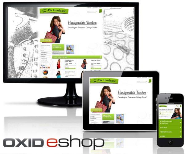 OXID Webshop diehandmade.de in Dorsten / Gahlen