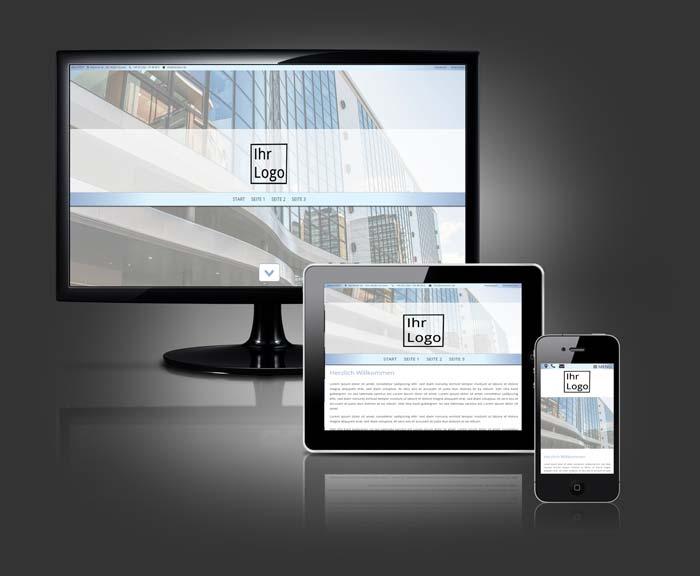 Standard Webdesign Runner von BLACKTENT