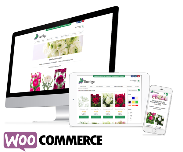 WooCommerce Webshop Blumigo