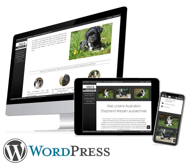 Webdesign Kunde von BLACKTENT