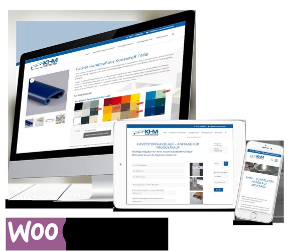 WooCommerce Webshop KHM
