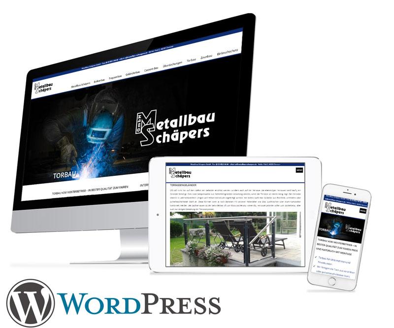Webdesign Kunde in Dorsten