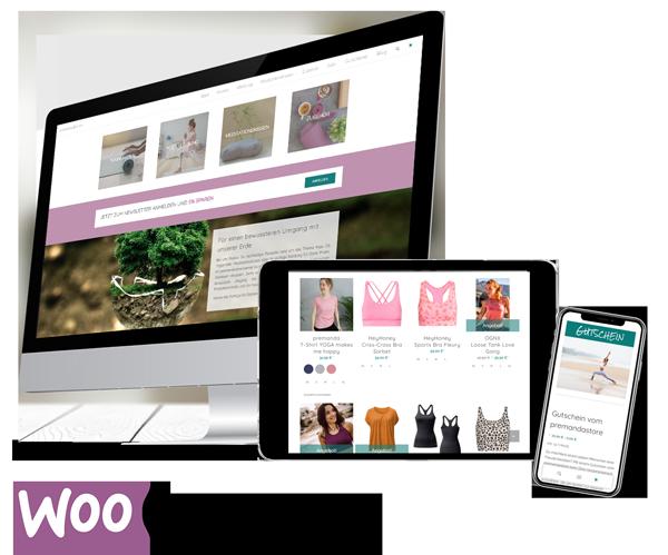 WooCommerce Webshop Premanda